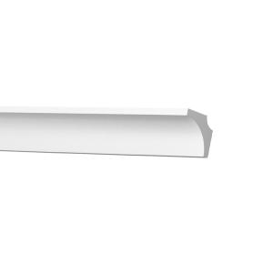 Плинтус потолочный экструдированный полистирол белый A09 2х1.5х200 см