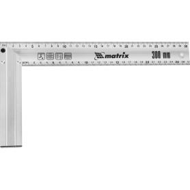 Угольник Matrix 300 мм алюминиевый