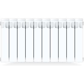 Радиатор Rifar Monolit, 10 секций, боковое подключение, 350 мм, биметалл