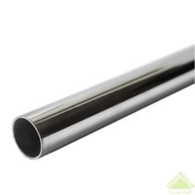 Штанга 100х2.5 см, сталь, цвет хром