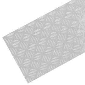 Лист рифленый АМг2 1.5х300х1200 мм, алюминий