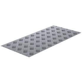 Лист рифленый АМг2 1.5х300х600 мм, алюминий