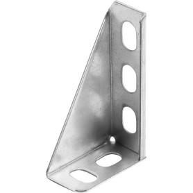 Кронштейн опорный 100 мм, сталь оцинкованная