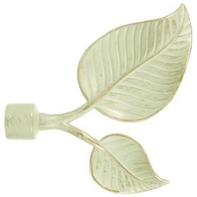 Наконечник «Вяз» 11 см цвет белый антик