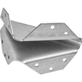 Косынка упорная 90х90х10х2 мм, сталь
