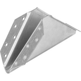 Косынка упорная 130х130х10х2 мм, сталь