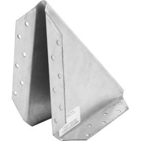 Косынка упорная 170х170х10х2 мм, сталь