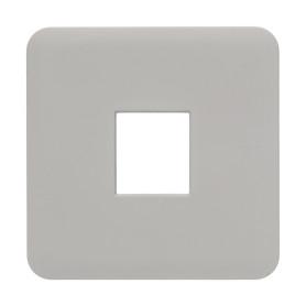Накладка для телефонной розетки Lexman Cosy RJ11-12-45, цвет серый