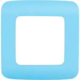 Рамка для розеток и выключателей Lexman Cosy 1 пост, цвет темная бирюза
