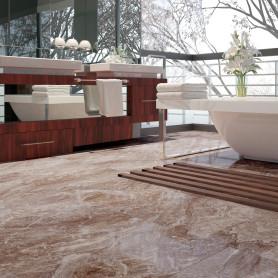 Керамогранит Damascata цвет коричневый 59.5Х59.5 см 1,06 м²