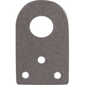 Проушина для замка прямая d 16 мм 65х40х2.5 мм, 1 шт.