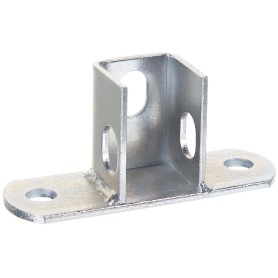 Основание потолочной стойки под профиль 120x40x4 мм, сталь