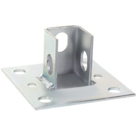 Основание потолочной стойки под профиль 100x100x3 мм, сталь