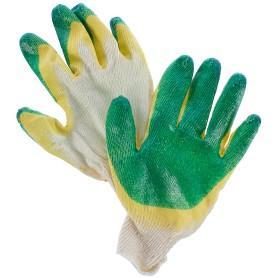 Перчатки хлопчатобумажные с двойным обливом, 38 г