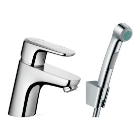 Смеситель для раковины Hansgrohe «Ecos» c гигиеническим душем