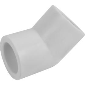 Угол 45° ⌀20 мм полипропилен