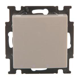 Выключатель встраиваемый ABB Basic 55 1 клавиша, цвет белый