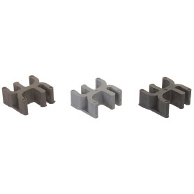 Фиксатор для арматуры «Табурет», 25х12 мм, пластмасса, 20 шт.