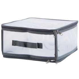 Короб Handy Home складной на молнии M 30х15x28 см, пластик