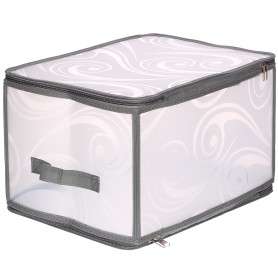 Короб Handy Home для хранения складной на молнии, 30х25x40 см, нетканный материал