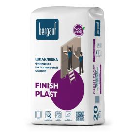 Шпаклёвка полимерная финишная Bergauf Finish Plast 20 кг
