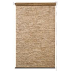 Штора рулонная «Концепт» 180х175 см цвет коричневый