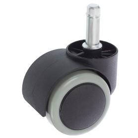 Колесо Boyard N108BL/GR, 50 мм поворотное без тормоза