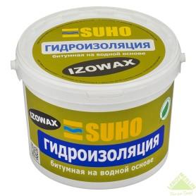 Мастика битумная на водной основе Suho Izowax, 10 кг