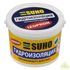 Смесь гидроизоляционная проникающая Suho Izopron, 12 кг