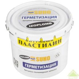 Мастика битумно-полимерная Suho Izoplomb, 5 кг
