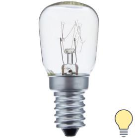 Лампа накаливания для холодильника Bellight E14 15 Вт свет тёплый белый