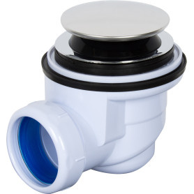 Сифон для душевого поддона автоматический слив d 50 мм, d 60 мм