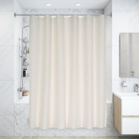 Штора для ванной комнаты «Dagha» 240x200 см цвет бежевый