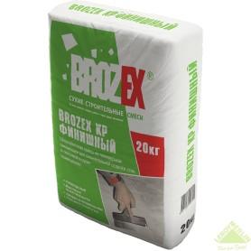 Шпаклёвка полимерная финишная Brozex KP 20 кг