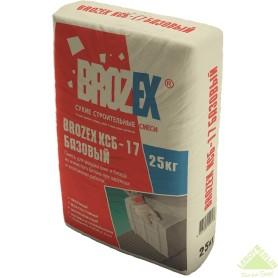 Смесь монтажно-кладочная Brozex КСБ-17, 25 кг