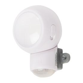Датчик движения-фонарь Spylux Osram, LED 0.23 Вт, цвет белый, IP 43