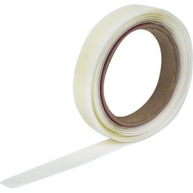 Лента крючковая «Папа» с липким слоем 20 мм цвет белый