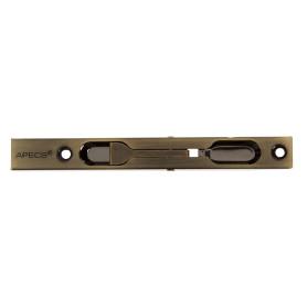 Шпингалет торцевой Apecs FB-01-140-AB цвет античная бронза