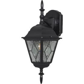 """Настенный светильник уличный Elektrostandard """"Vega"""" 1xE27х60 Вт, цвет чёрный, IP44"""