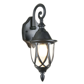 "Настенный светильник уличный Elektrostandard ""Oroin"" 1xE27х60 Вт, цвет чёрный, IP44"