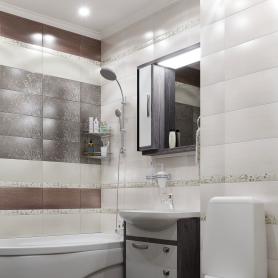 Плитка настенная «Наоми» 19.8x39.8 см 1.58 м2 цвет белый