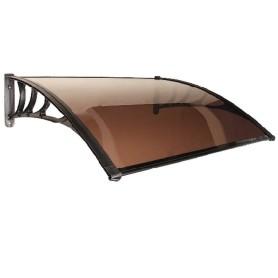 Козырёк-конструктор 1000х1200 мм цвет коричневый