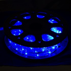 Электрогирлянда наружная «Дюралайт» 8 м 24 LED/м синий