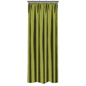 Штора на ленте 140х260 см тафта цвет зелёный