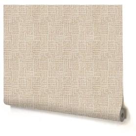 Обои флизелиновые Палитра Knitting бежевые 1.06 м 3292-22