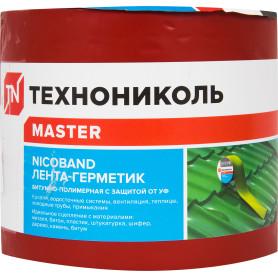 Лента-герметик Никобенд, 3х0,1 м, цвет красный