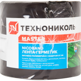 Лента-герметик Никобенд, 3х0,1 м, цвет коричневый