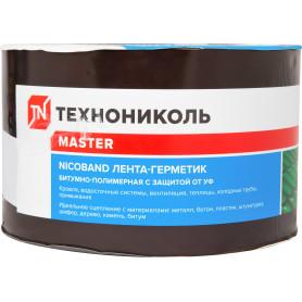 Лента-герметик Никобенд, 10х0,1 м, цвет коричневый