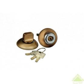 Фиксатор-ключ Palladium 10х40 мм цвет античная бронза