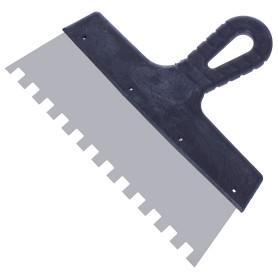 Шпатель фасадный зуб 10х10 мм 200 мм